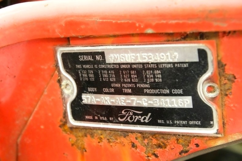 1956 Ford Victoria Hardtop 18