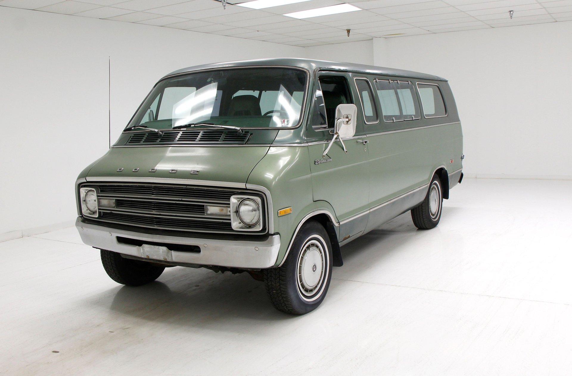 1977 Dodge Sportsman 15-Pass Van