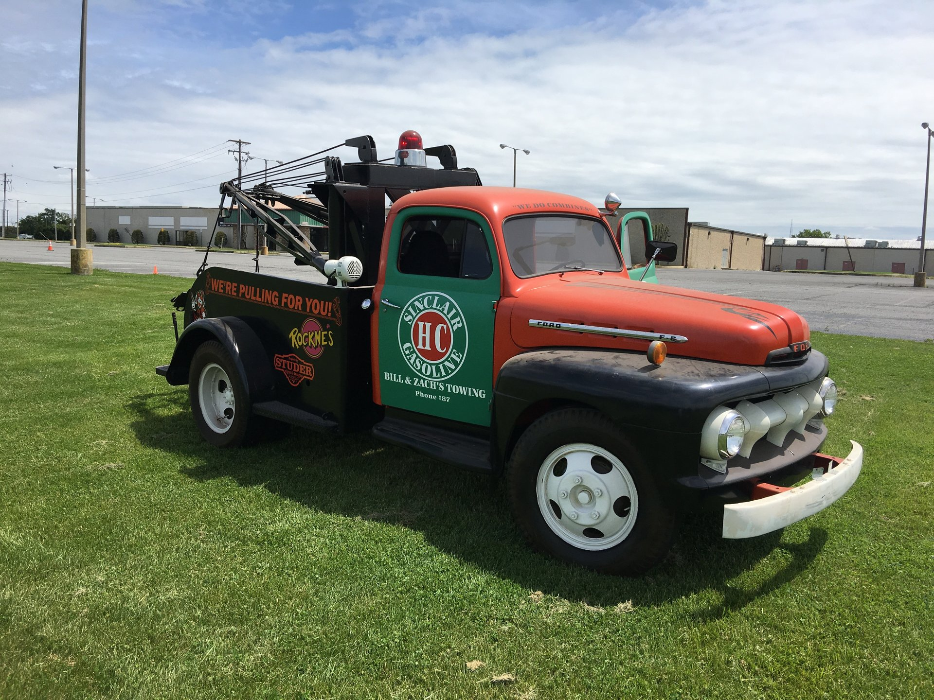 1951 Ford Wrecker