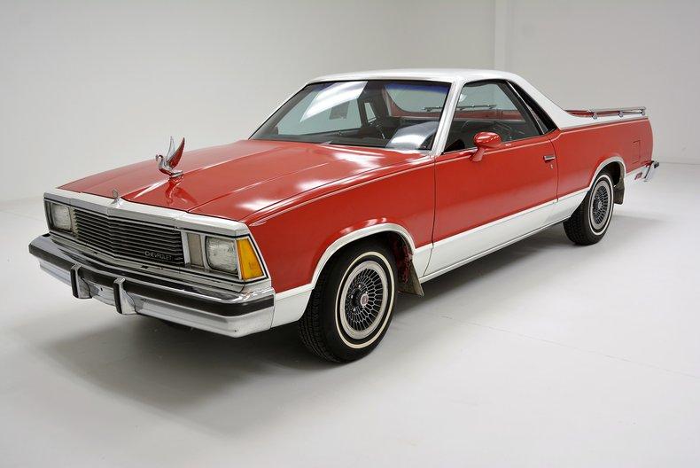 1981 Chevrolet El Camino For Sale