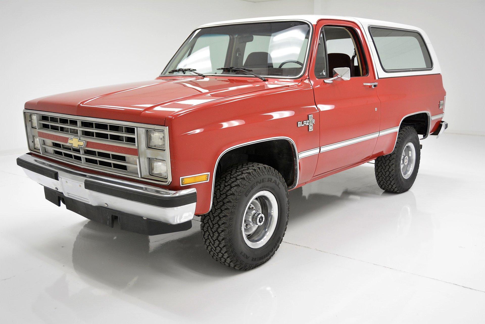 1986 Chevrolet Blazer Classic Auto Mall