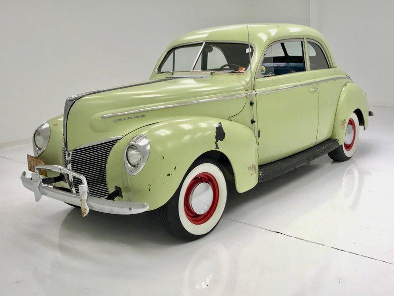 1940 Mercury Eight For Sale