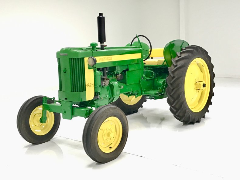1956 John Deere 420 W Tractor For Sale