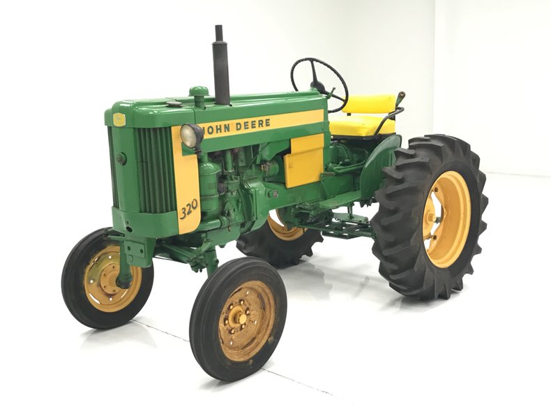 1958 John Deere 320 S Tractor For Sale