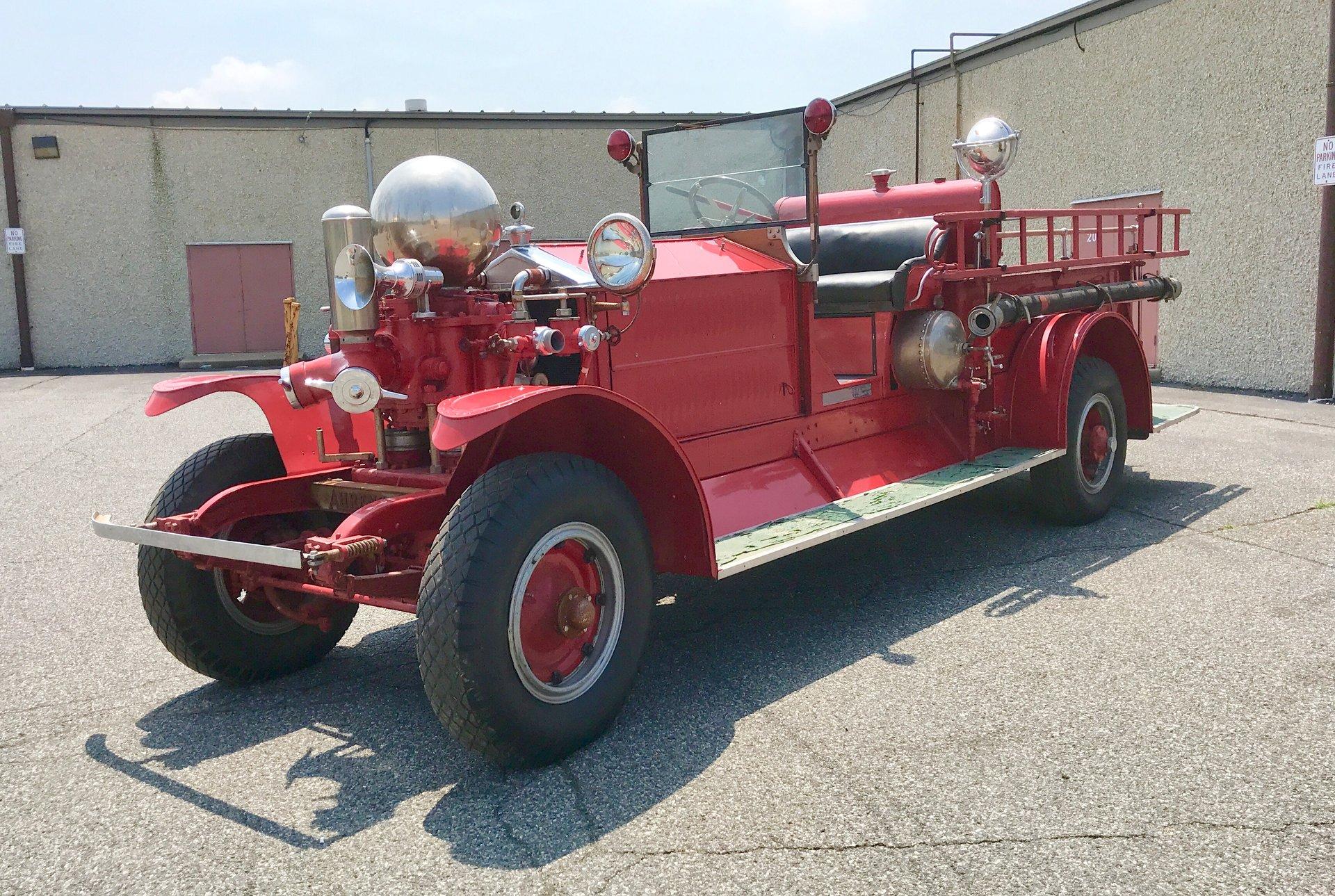 1920 Ahrens-Fox Firetruck