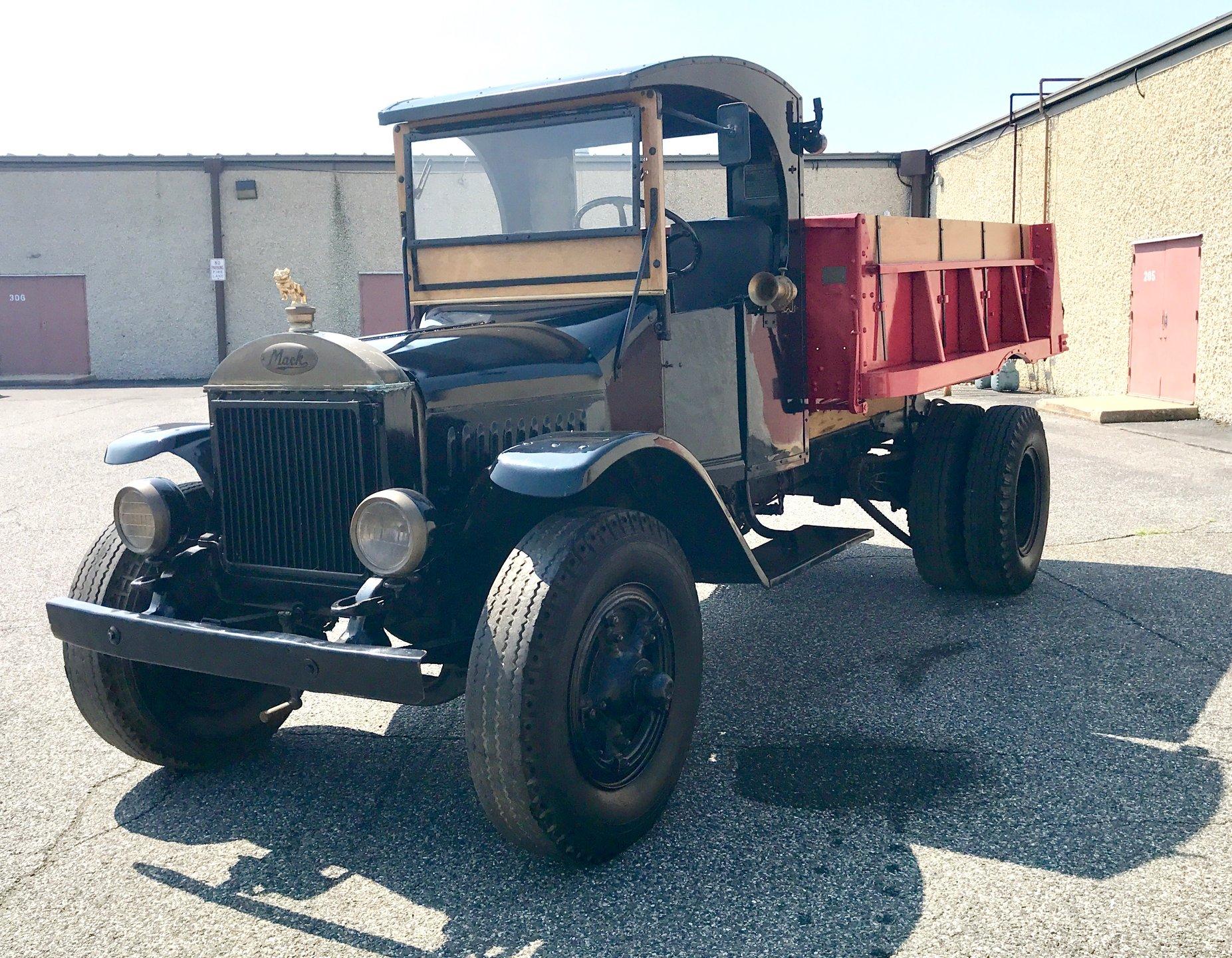 1930 Mack AB Dump Truck