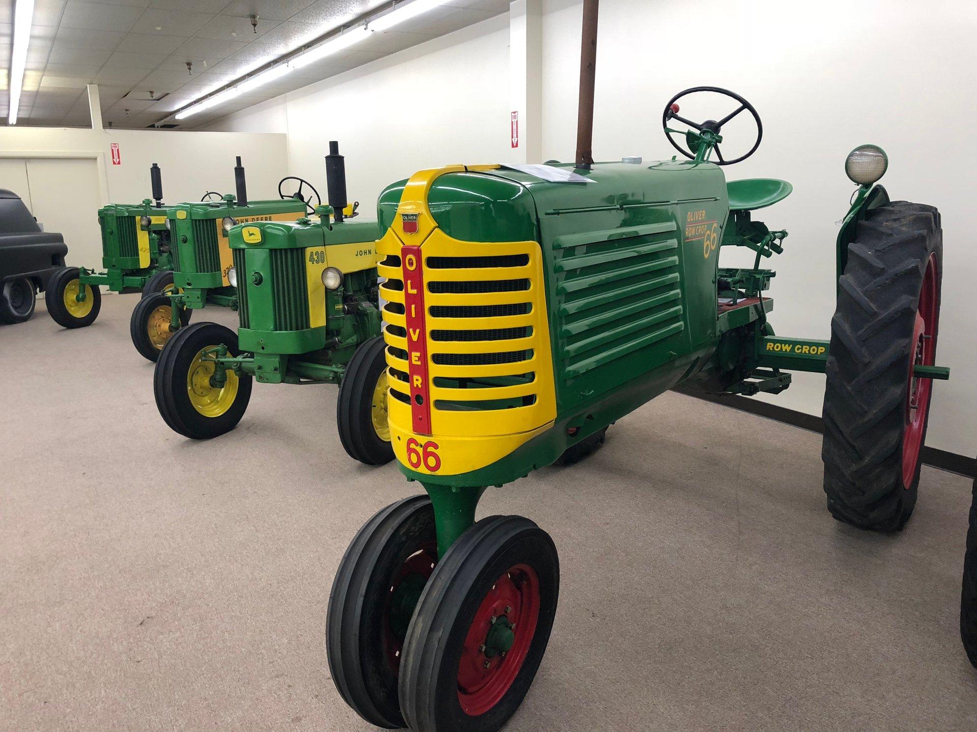 1952 Oliver 66 Row Crop Tractor