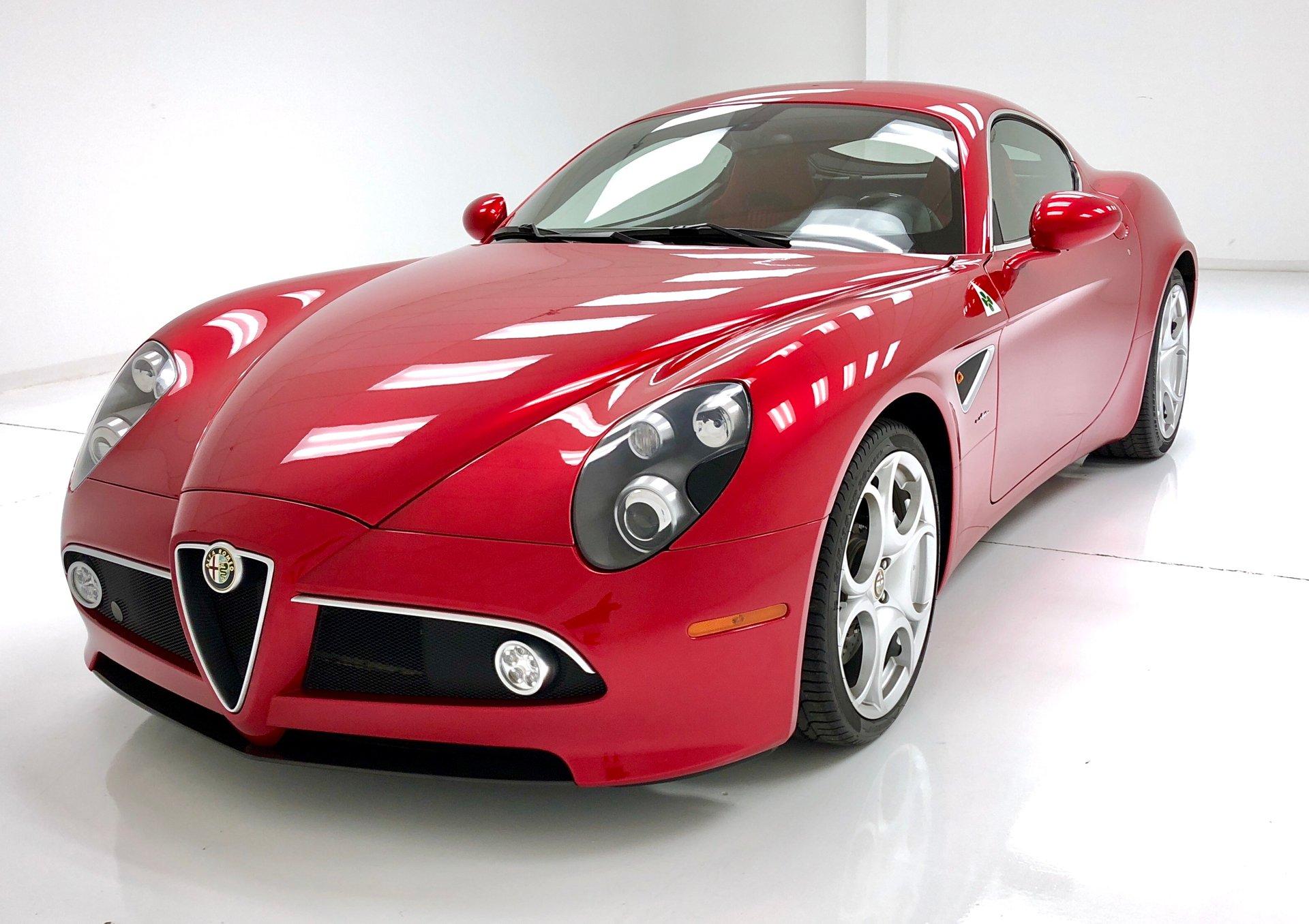 2008 Alfa Romeo 8C Coupe