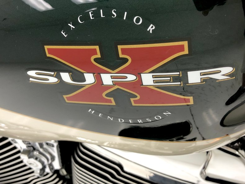 2000 Excelsior Henderson Super X 13