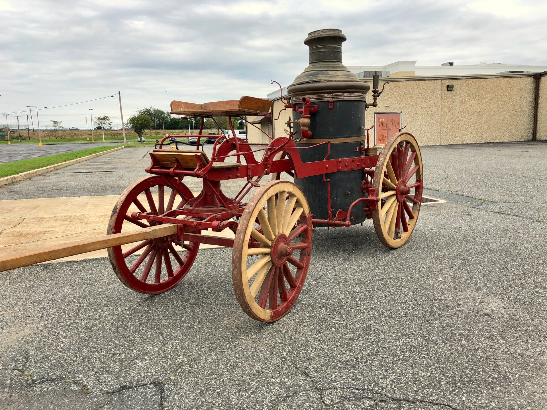 1890 La France Fire Wagon