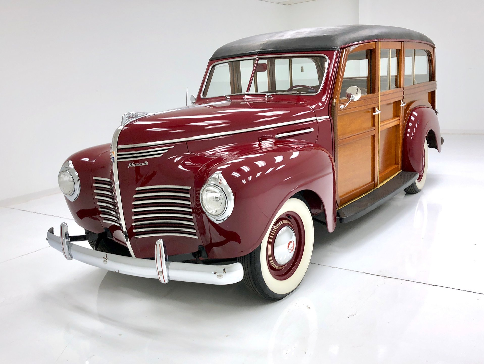 1940 Plymouth Woody Station Wagon