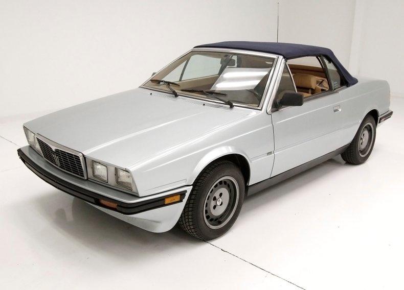 1986 Maserati Biturbo For Sale
