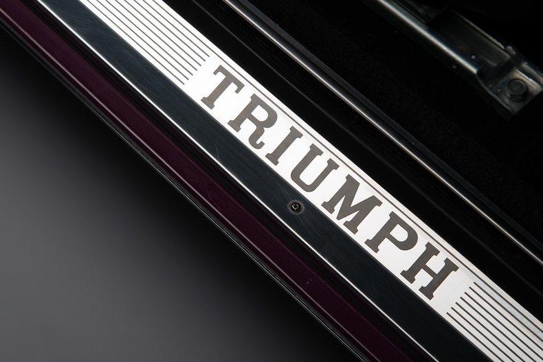 1973 Triumph Stag Mk2, MAGENTA, VIN LE21675U, MILEAGE 40747