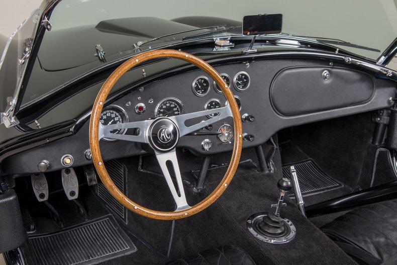 1964 Shelby Cobra 289, BLACK, VIN CSX2518, MILEAGE 1511