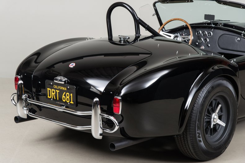 1964 Shelby Cobra 289, BLACK, VIN CSX2518, MILEAGE 1511