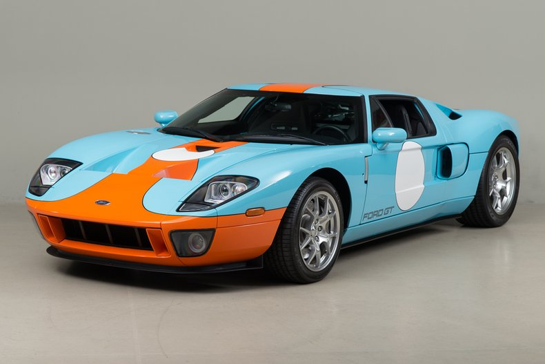 2006 Ford GT , HERITAGE BLUE & EPIC ORANGE, VIN 1FAFP90S56Y400793, MILEAGE 183