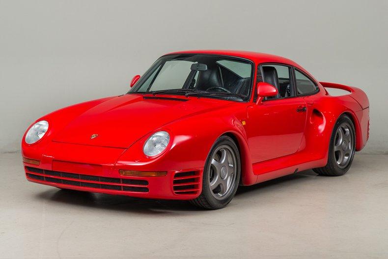 1987 Porsche 959 , RED, VIN WPOZZZ95ZHS900125, MILEAGE 5747