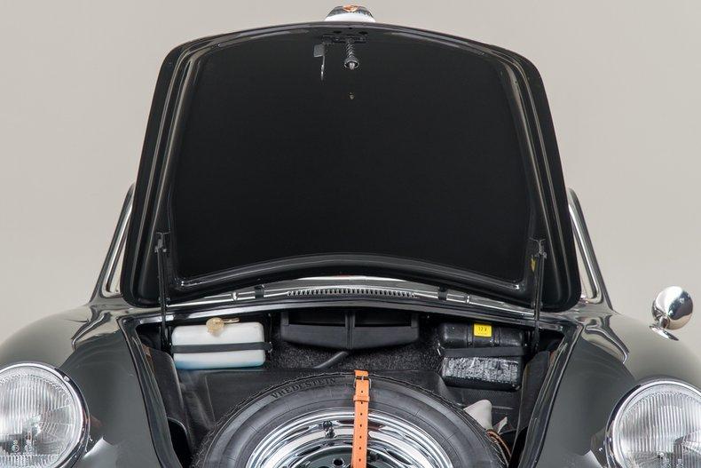 1963 Porsche 356 Carrera 2 Coupe, SLATE GRAY, VIN 120351, MILEAGE 923