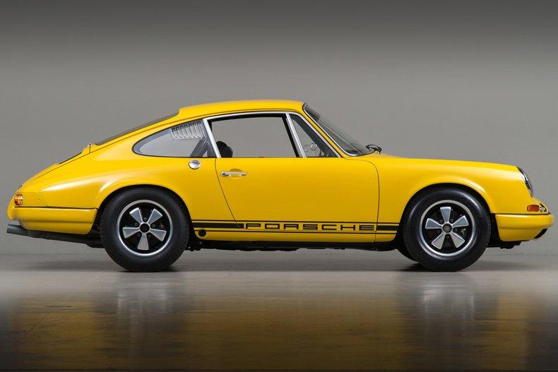 1967 Porsche 911 R, YELLOW, VIN 307670, MILEAGE 9176