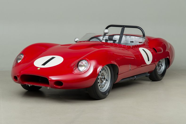 1959 Lister Chevrolet-Costin Prototype, RED, VIN BHL121