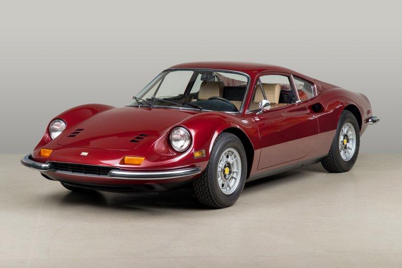 1973 Dino 246GT , ROSSO RUBINO , VIN 05020, MILEAGE 34836