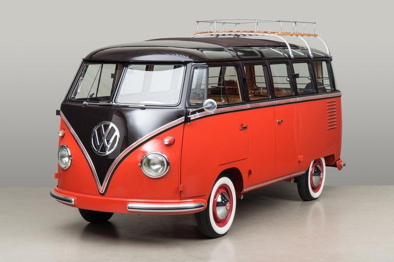 1958 Volkswagen Deluxe Microbus 23 Window _5683