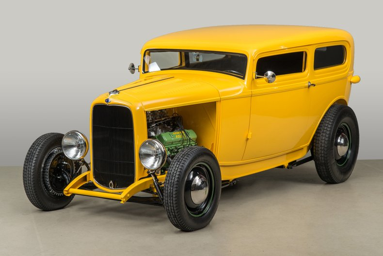1932 Ford Highboy , YELLOW, VIN 18127343, MILEAGE 107