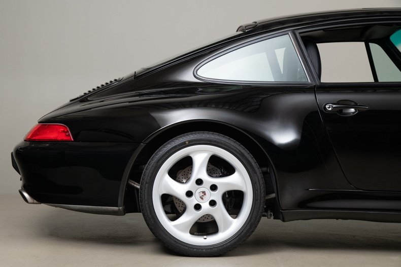 1997 Porsche 911 Carrera S, BLACK, VIN WP0AA2996VS322264, MILEAGE 75836