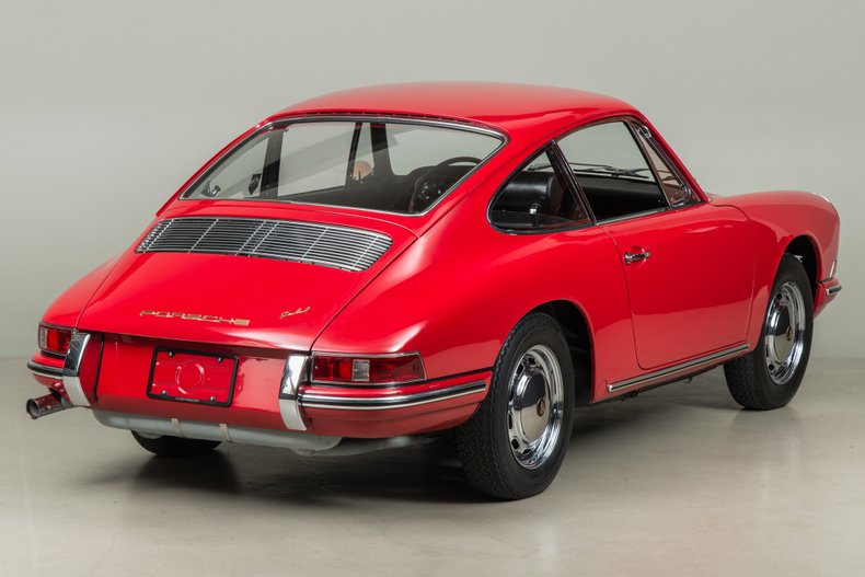 1966 Porsche 911 , RED, VIN 303468, MILEAGE 43515