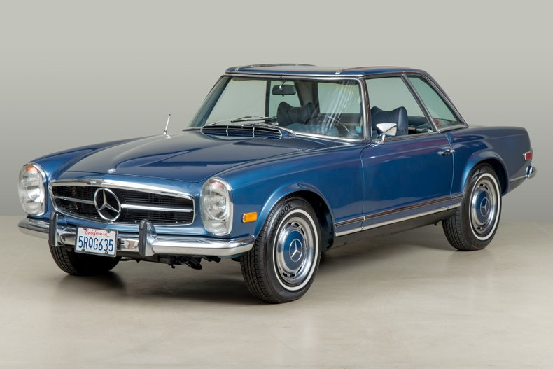 1971 Mercedes-Benz 280SL ,  BLUE, VIN 11304412018688, MILEAGE 51709
