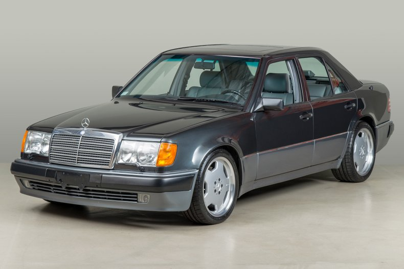 1993 Mercedes-Benz 500E , GRAY, VIN WDBEA36E1PB949822, MILEAGE 19956