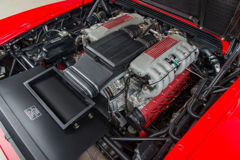 1990 Ferrari Testarossa , RED, VIN ZFFSG17A2L0087270, MILEAGE 7565