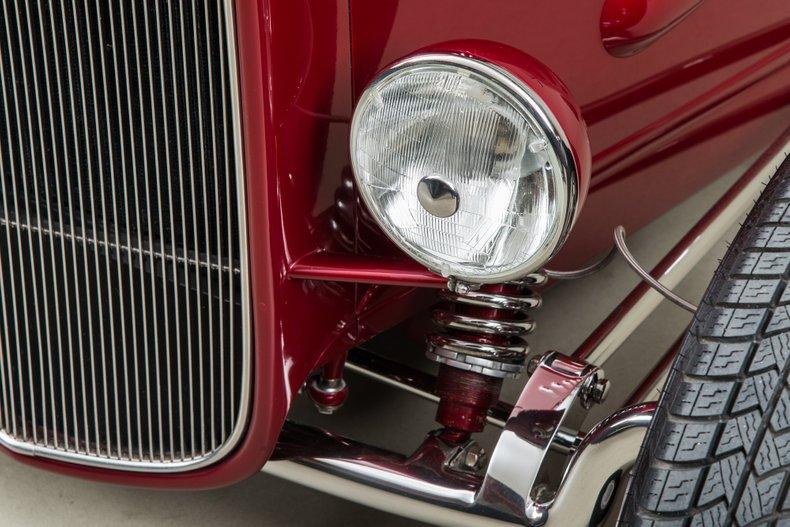 1932 Ford Roadster , GARNET RED, VIN 1890827, MILEAGE 21779