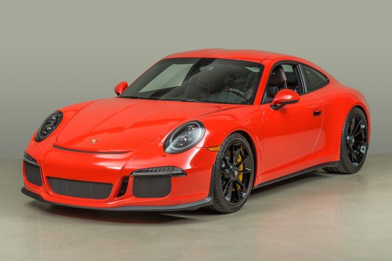 2016 Porsche 911R _5703