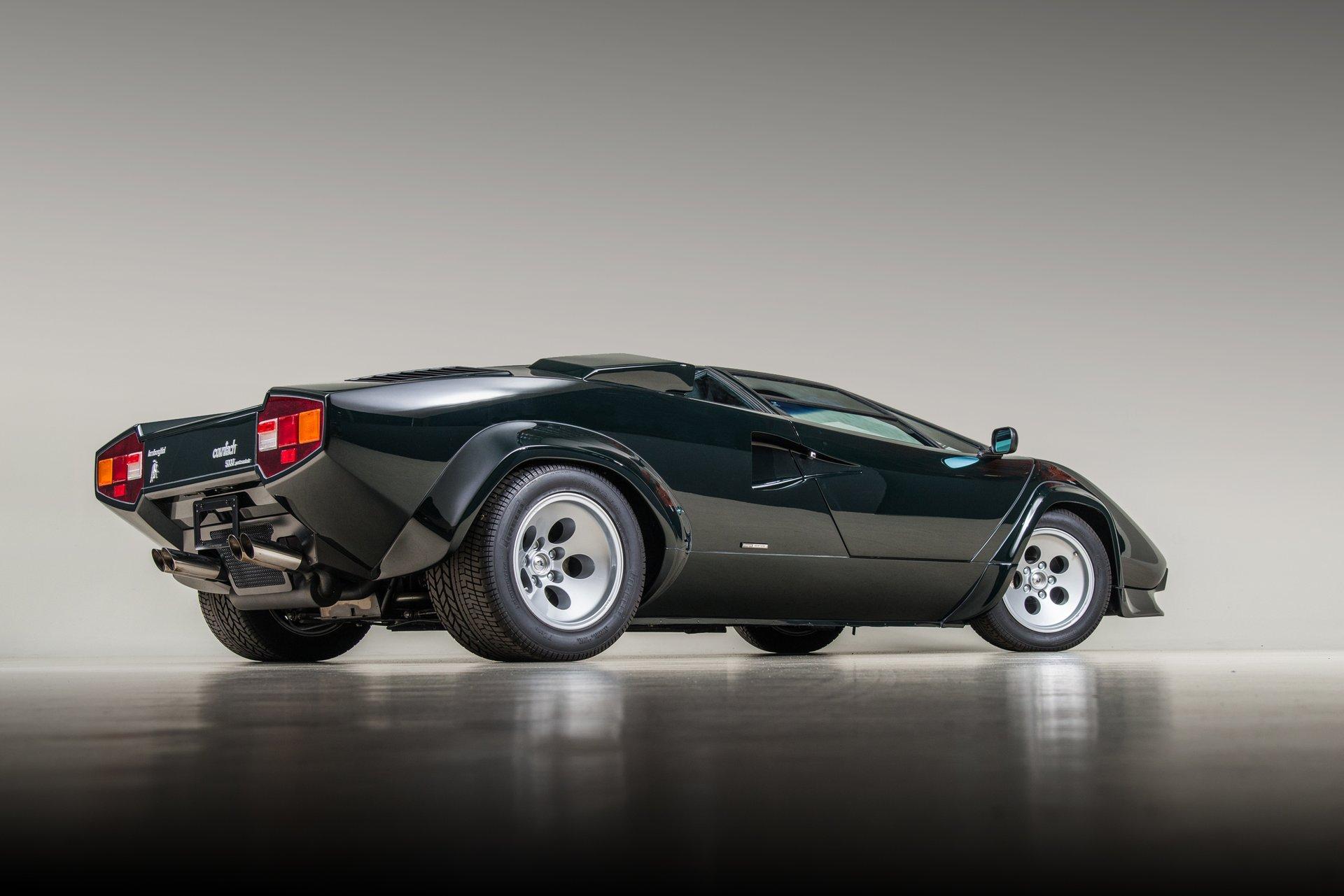1986 Lamborghini Countach Lp5000 Quattrovalvole For Sale 116077 Mcg