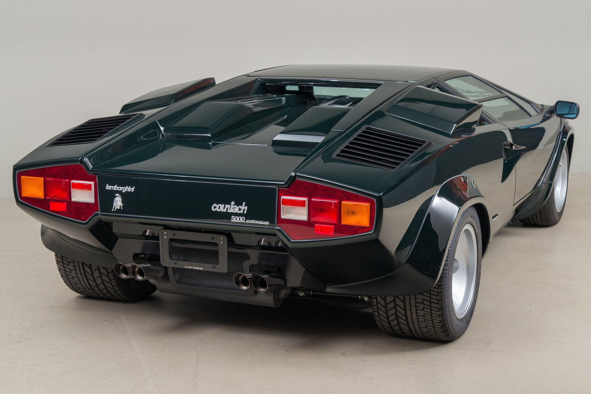 1986 Lamborghini Countach Lp5000 Quattrovalvole For Sale 116077 Mcg