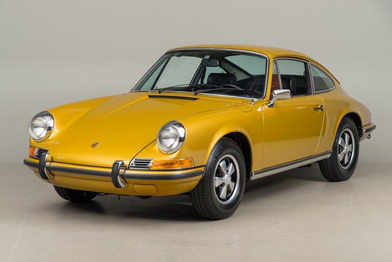 1971 Porsche 911 T, GOLD, VIN 9111102451, MILEAGE 51882