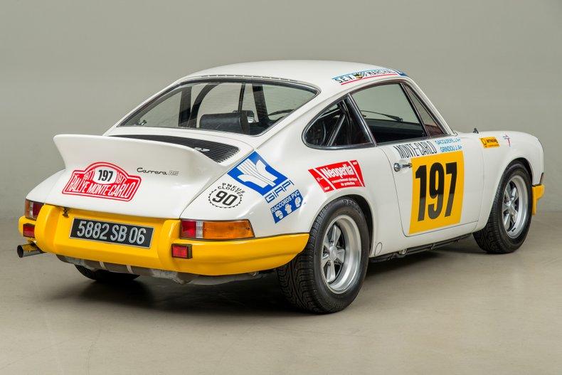 1973 Porsche 911 Carrera RS , WHITE, VIN 9113600526, MILEAGE 27658