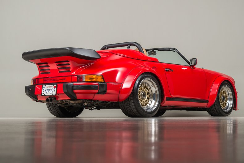 1989 Porsche 962 Twin-Turbo Speedster, GUARDS RED, VIN WP0EB0915KS173533, MILEAGE 3035