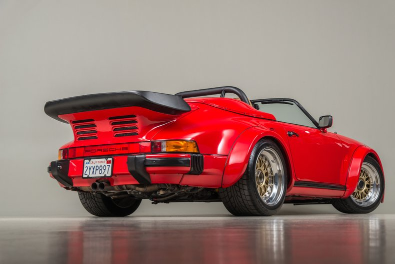 1989 Porsche 962 Twin-Turbo Speedster, GUARDS RED, VIN WP0EB0915KS173533, MILEAGE 2979
