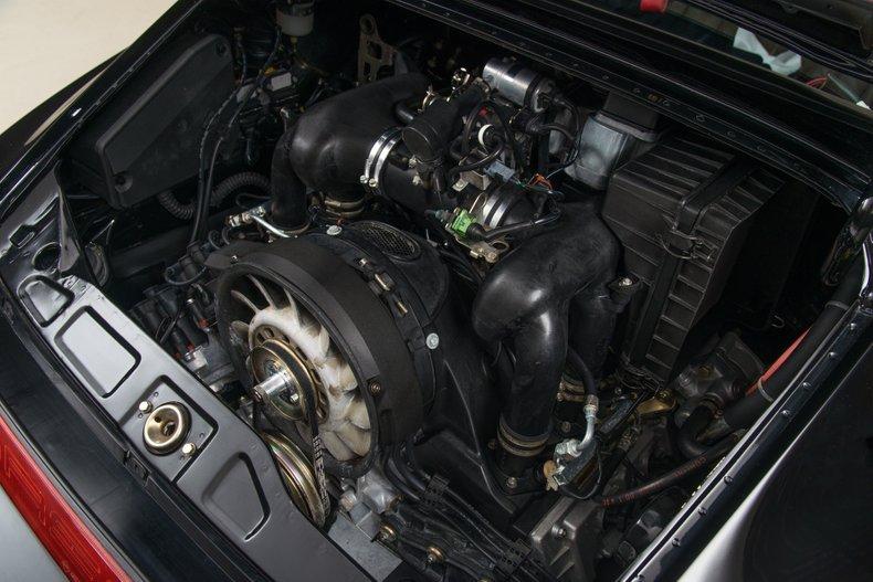 1991 Porsche 964 Carrera 4 Leichtbau, BLACK, VIN 964-015, MILEAGE 2769