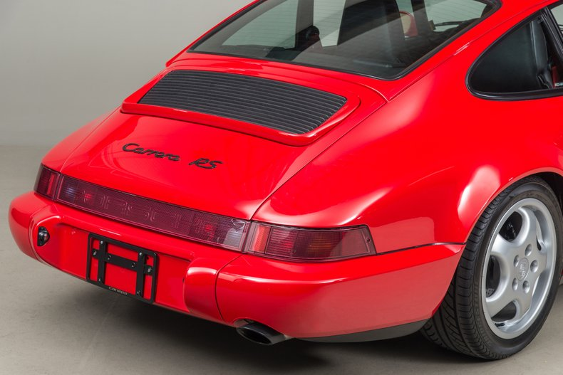 1992 Porsche 964 RS Touring, RED, VIN WP0ZZZ96ZNS491422, MILEAGE 18517