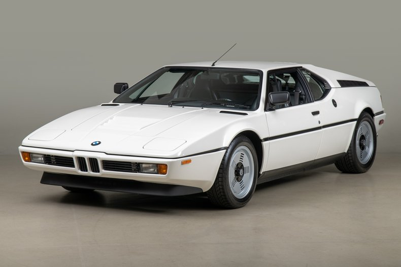 1980 BMW M1 , WHITE, VIN WBS59910004301226, MILEAGE 22760
