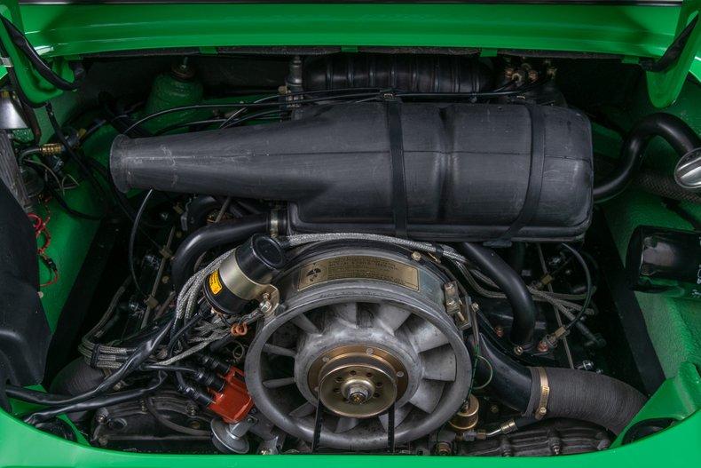 1973 Porsche 911T , EMERALD (KELLY) GREEN, VIN 9113111049, MILEAGE 34681