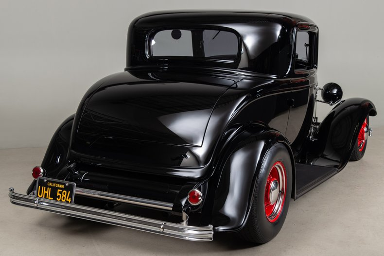 1932 Ford 3 Window , BLACK, VIN 18-15C383, MILEAGE 653