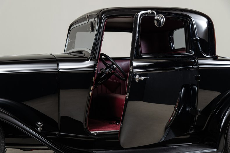 1932 Ford 3-Window Coupe, BLACK, VIN 18-15C383, MILEAGE 653