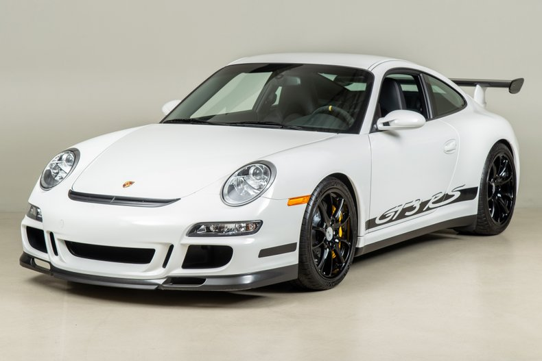 2007 Porsche 911 GT3 RS , CARRARA WHITE, VIN WP0AC29967S793179, MILEAGE 2348