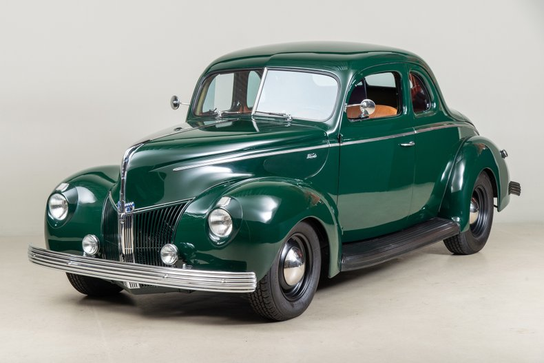 1940 Ford Standard Coupe , GREEN, VIN 18570811, MILEAGE 5909
