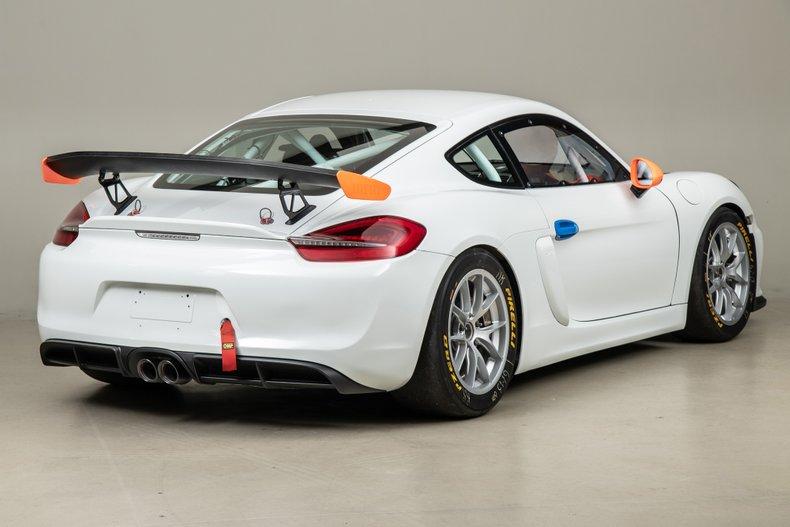 2016 Porsche Cayman GT4 Club Sport MR, WHITE, VIN WP0ZZZ98ZGK199742, MILEAGE 8588