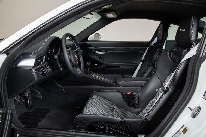 2016 Porsche 911R , WHITE, VIN WP0AF2A95GS195300, MILEAGE 290